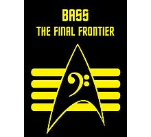 Bass -- The Final Frontier Photographic Print