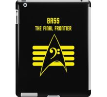 Bass -- The Final Frontier iPad Case/Skin