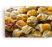Savoury Pastry Selection Canvas Print