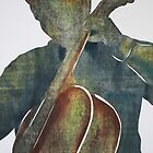 Printmaking: Cellist by Marion Chapman