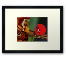 Defiance: Erection in the face of mortality Framed Print