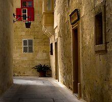 Mdina Corner by Edwin  Catania