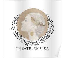 Theatre Hera Logo Light  Poster