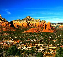 The Town of Sedona by Jeff Blanchard