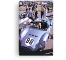 Ken Miles&Shelby Canvas Print