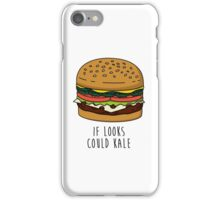 If Looks Could Kale iPhone Case/Skin