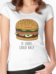 If Looks Could Kale Women's Fitted Scoop T-Shirt