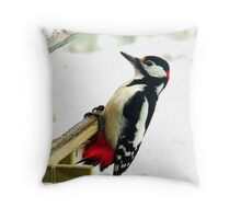 Who Ate the Peanuts? Throw Pillow