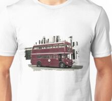 Double Decker Illustration Unisex T-Shirt