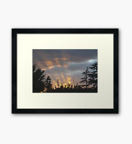 Searchlights? Framed Print