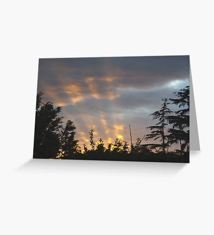 Searchlights? Greeting Card