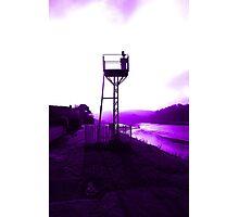 river signal Photographic Print