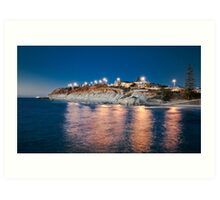 Port Noarlunga From The Jetty Art Print