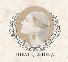 Theatre Hera Logo Marble  by theatrehera