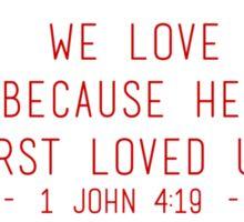 First Love Sticker