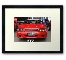 2000 AU XR8: NZ Falcon & Fairlane Car Club Nationals 2015 Framed Print