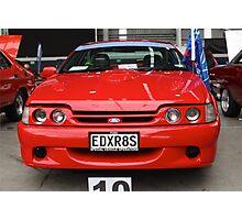 2000 AU XR8: NZ Falcon & Fairlane Car Club Nationals 2015 Photographic Print