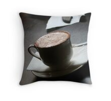 A womans' best friend Throw Pillow