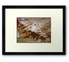 Misty Mountain Morn' Framed Print