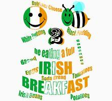 happy2bee eating a full irish breakfast Unisex T-Shirt
