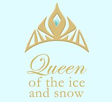 Queen of the Ice and Snow by lunalalonde