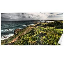 Tacking Point Lookout Poster