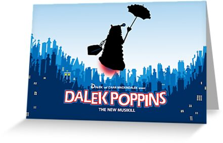 Dalek Poppins  by ToneCartoons