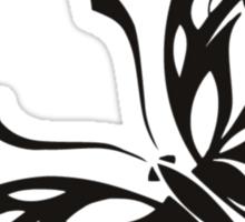 Buttefly tribal Pattern Sticker