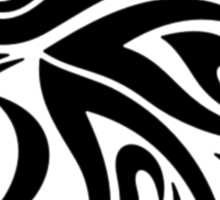 Eagle Tribal Pattern Sticker