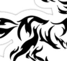 Horse Tribal Pattern Sticker