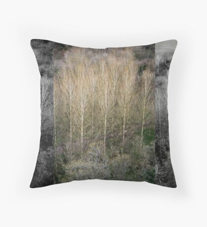 Trees Again Throw Pillow