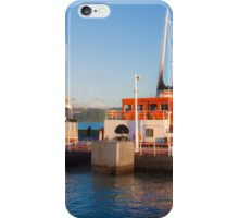 cacilheiro. tejo river boat. iPhone Case/Skin