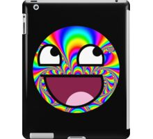 Awesome face - Trippy iPad Case/Skin