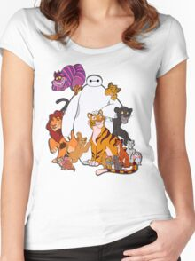 Hairy Babies Women's Fitted Scoop T-Shirt
