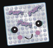 Cute Kawaii Bubble Wrap by doonidesigns