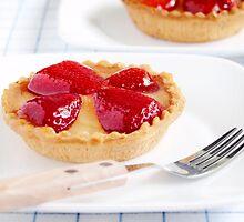 Strawberry Tarts by the-novice