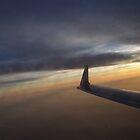Sunset at 25,000 Feet by GMooneyhan