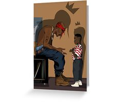 2pac Ft Kendrick Greeting Card