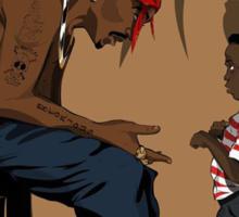 2pac Ft Kendrick Sticker