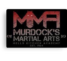 MMA - Murdock's Martial Arts (V01) Canvas Print