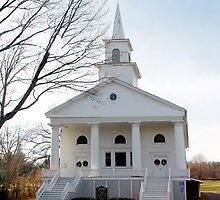 Lakemont Church, New York by Cheri Perry