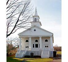 Lakemont Church, New York Photographic Print