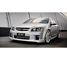 Holden Custom Modified & Supercharged VE SSV Photographic Print