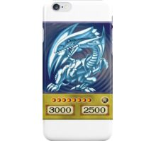 Blue eyes white dragon iPhone Case/Skin