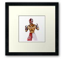 Rey Mysterio Framed Print