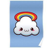 Kawaii Cloud Poster