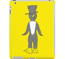 penguin gentleman iPad Case/Skin