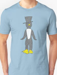 penguin gentleman Unisex T-Shirt