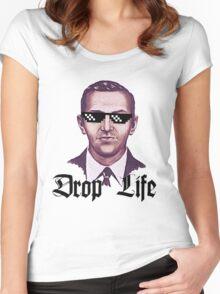 Drop Life D B Cooper Women's Fitted Scoop T-Shirt