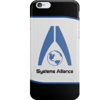 Systems Alliance iPhone Case/Skin